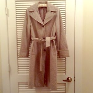 United Colors Of Benetton Jackets & Blazers - United Colors of Benetton Wool Coat Gray Size 38