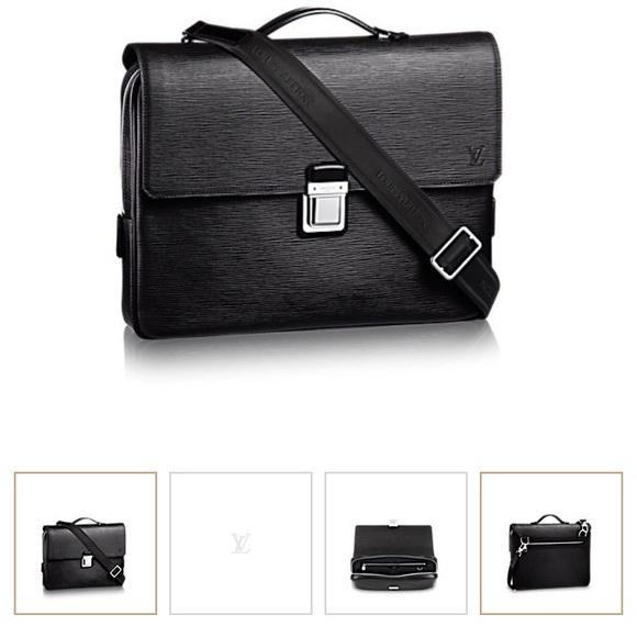 0ca3043171a2 Louis Vuitton Other - Louis Vuitton Taiga Leather Vassili briefcase