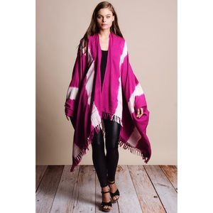Handmade Woven Poncho Kimono