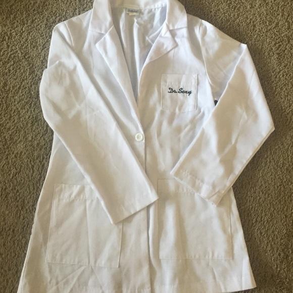 Sexy Doctor Lab Coat Halloween Costume