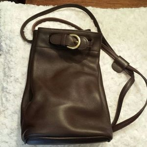 Coach  Handbags - Vintage Coach 4160 Brown Leather Backpack