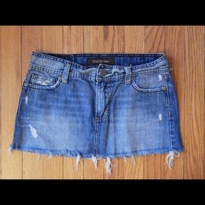 Hollister Denim Mini Skirt Sz 3