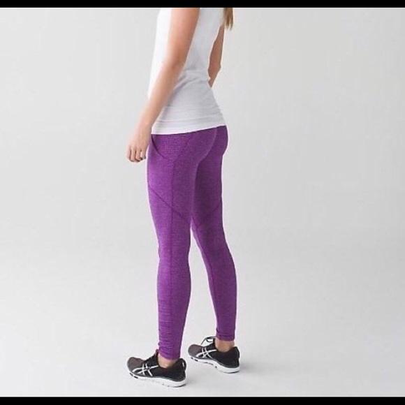 8f791444a3be50 lululemon athletica Pants - Purple Lululemon Speed Tight IV with RULU Fabric