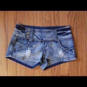 Almost Famous Shorts - Almost Famous Denim Shorts Sz 3