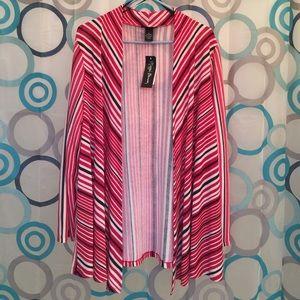 Maggie Barnes Sweaters - Maggie Barnes schrug new XL red, black, white
