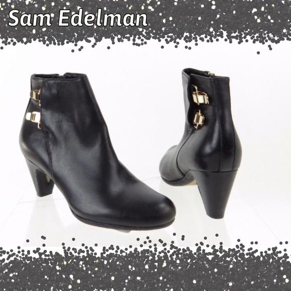 467b9f276c4371 Sam Edelman Marmont Black Ankle Booties. M 57fff7fb36d594dc7b0092fd