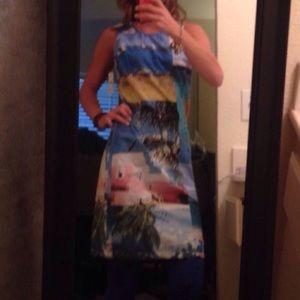 Dresses & Skirts - NWT beach print dress sz small Nordstrom