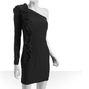Robert Rodriguez Dresses & Skirts - Robert Rodriguez one shoulder cocktail dress black