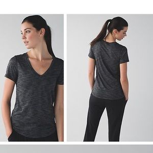 lululemon athletica Tops - NEW LULULEMON what the sport SS tee space dye NWT