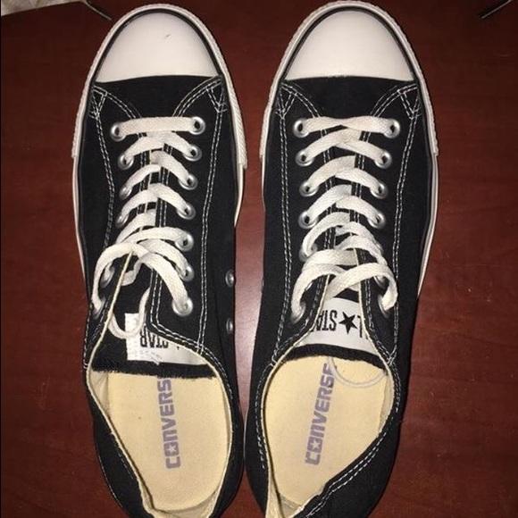 Converse Shoes   Black Converse Size 1