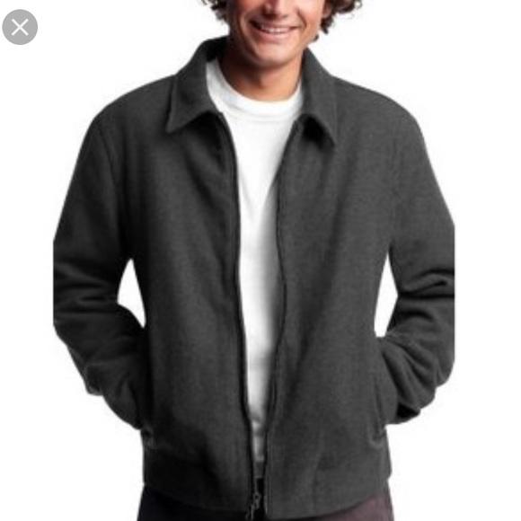90% off GAP Other - ☔️SALE☔️Gap Men's Wool Short Zip Jacket ...