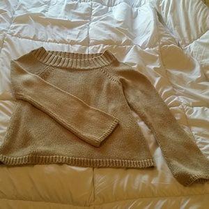 Loft SP tan sweater