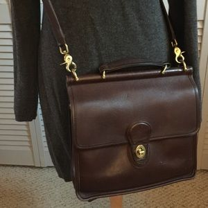 Vintage Coach Leather Crossbody