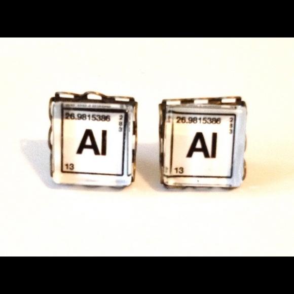 Rackfocus jewelry handmade periodic table earrings al aluminium handmade periodic table earrings al aluminium urtaz Images