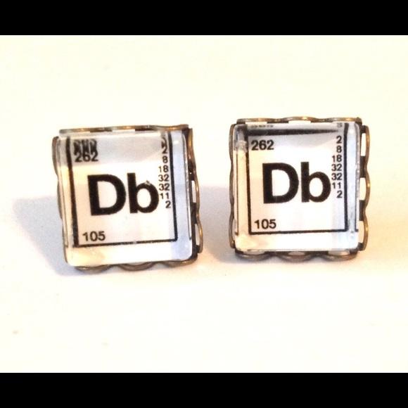 Rackfocus jewelry periodic table post earrings handmade db dubnium periodic table post earrings handmade db dubnium urtaz Images
