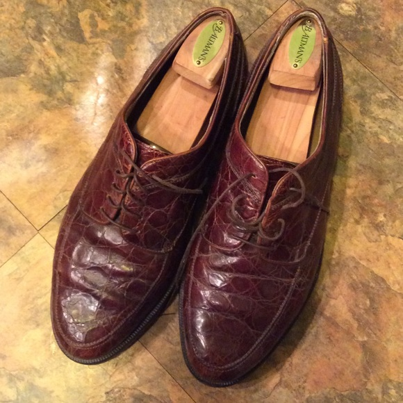 Cole Haan alligator shoes Men's size 10