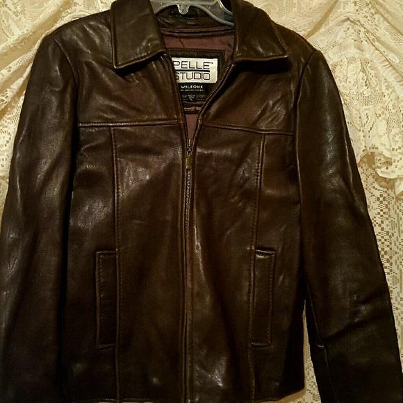 adaa0e7e4 pelle studio wilsons Jackets & Coats   Leather Jacket   Poshmark