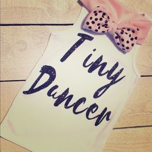"""Tiny Dancer"" Shirt and matching headband"