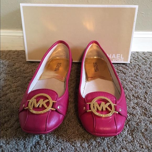 6a89df41e29 Michael Michael Kors Fulton Moc Pink Flats. M 58001b9f4e8d176bcc002f5c
