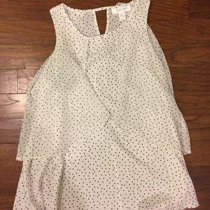 Motherhood Maternity Size Small Polka Dot Blouse