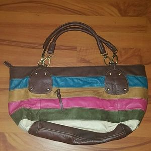 Dolce   Gabbana Bags   Dg Dolce Gabbana Multicolored Striped Purse ... 675e87d45e