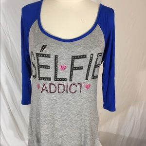 Self Addict T Shirt Sz M
