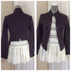 Free People Military Jacket S