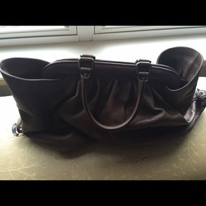 Fendi Borsa Leather Brown Doctor Bag
