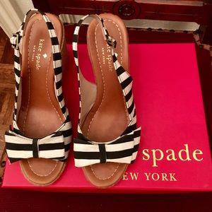 Kate Spade wedge sandal