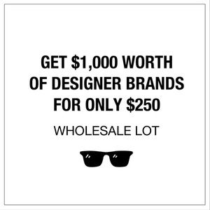 $1,000 Name Brand Designer Wholesale Lot