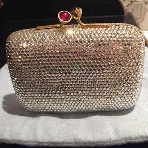 judith leiber Handbags - Judith Leiber Evening Small Clutch Gold