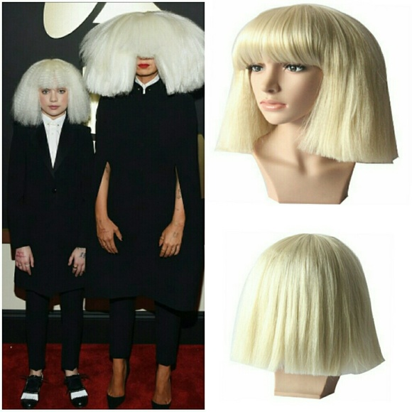 Accessories - Sia blonde bob wig 8de0475ea