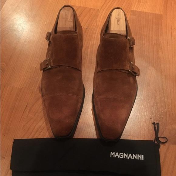 Magnanni Double Monk Strap Shoes
