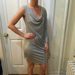 Haute Hippie Dresses & Skirts - NWT Haute Hippie Nude Grey One Sleeve Sexy Dress