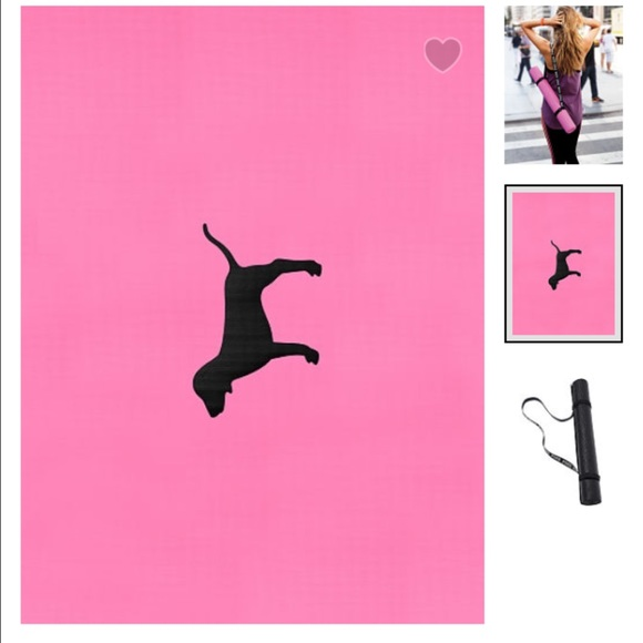 🆕VS PINK Yoga Mat From Cuala's