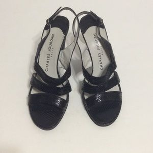 Charles Jourdan Shoes - Paris made leather sandal
