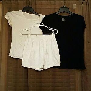 Exhilaration  Other - Sleep shirts and shorts