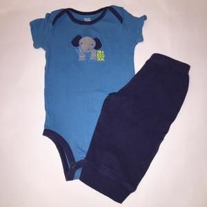 Carters Other - 2-piece Carter's Elephant Set with Free Onesie