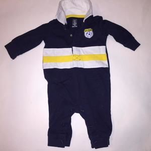Carters Other - ⚜⚜EDITOR'S PICK⚜⚜🎉🎉ON SALE🎉🎉 Soccer Long Sleeve Romper