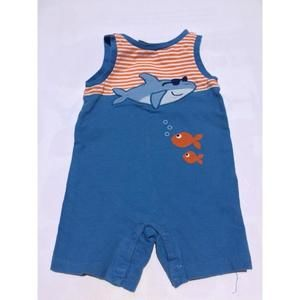 First Impressions Other - Adorable Shark Romper