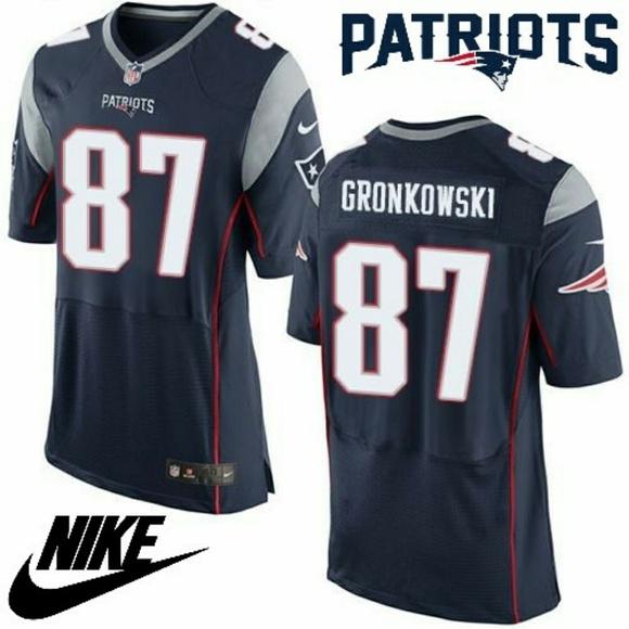 rob gronkowski nike elite jersey