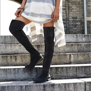 Free People Shoes - ONE SIZE 37 LEFT! Over The Knee Vintage Boots