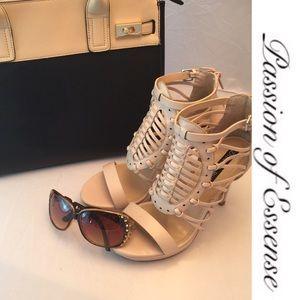 Izabella Rue Shoes - Izabella Rue Woven Stilettos Heels