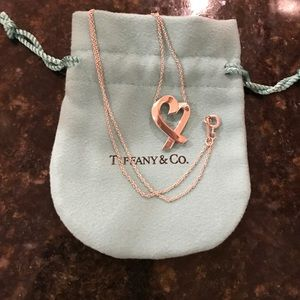 Tiffany & Co. Jewelry - Tiffany & Co PALOMA PICASSO LOVING HEART PENDANT