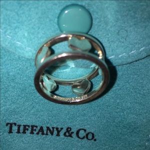 Tiffany & Co. Jewelry - Tiffany & Co cut out heart ring in size 6