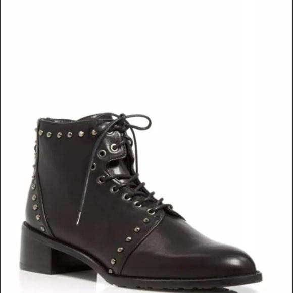 9d4fafb2d80 Stuart Weitzman Shoes   Ankle Boots Lashease Lace Up Stud   Poshmark