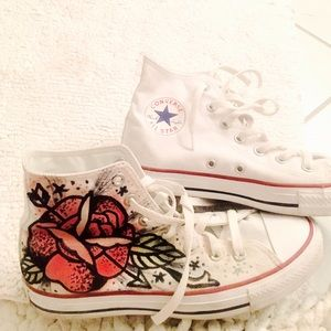 Converse ALL STARs Hand painted at UO by artist
