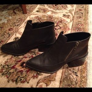 Lord & Taylor Shoes - Design Lab by Lord & Taylor Black Booties Boots