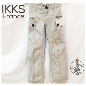 Ikks Other - IKKS Cotton double waistband cargos- Just darling!
