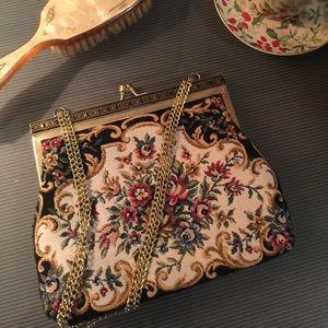 SALE! Vintage tapestry bag